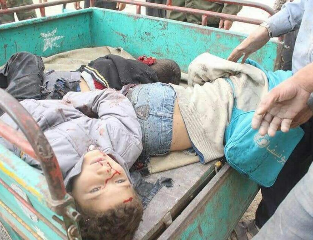 Los niños sirios siguen muriendo en Siria [contenido sensible]