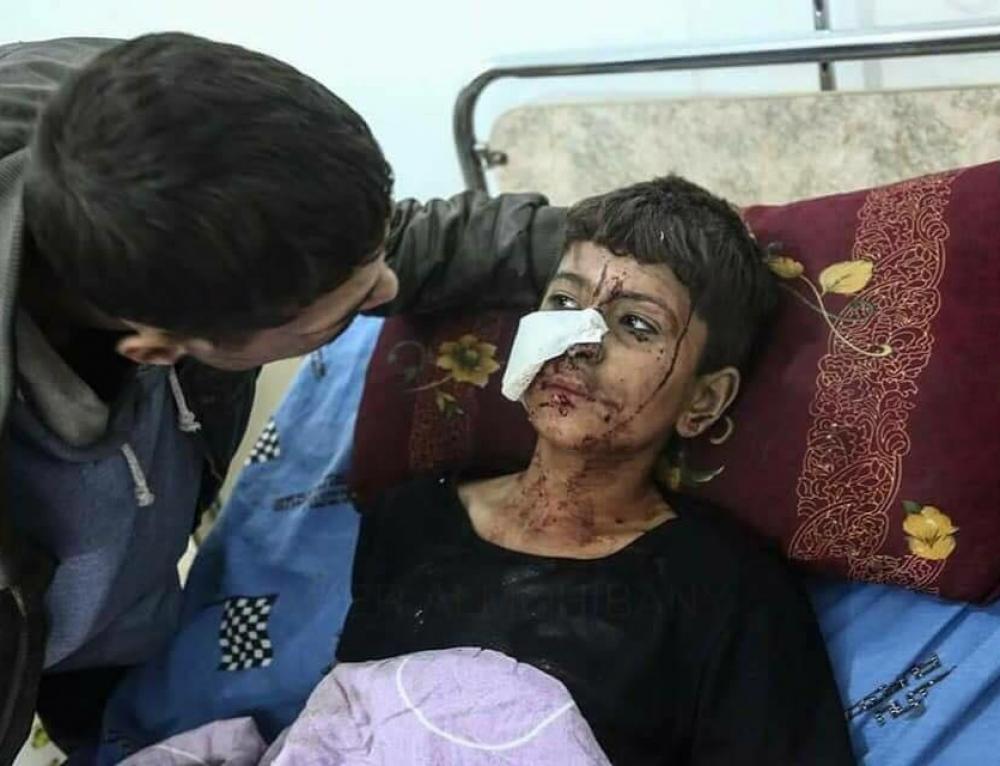 Siria, el infierno de Dante