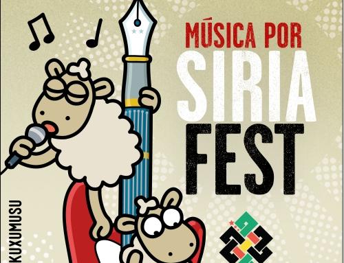 Arranca el Música Por Siria FEST