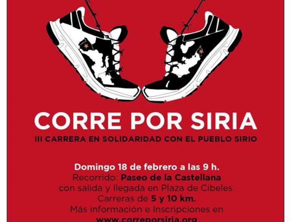 CORRE POR SIRIA vuelve a Madrid